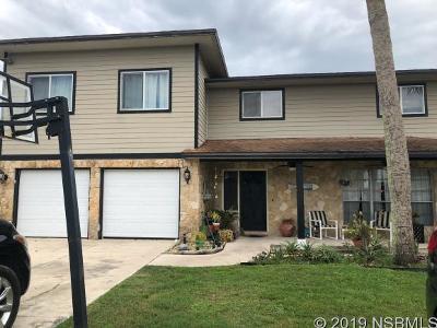 New Smyrna Beach Single Family Home For Sale: 124 Aqua Ct