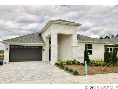 New Smyrna Beach Single Family Home For Sale: 3017 King Palm Lot 114