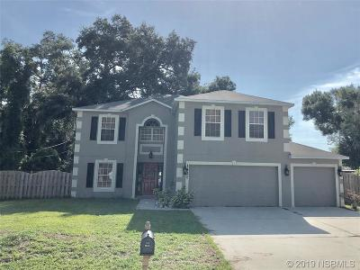 Edgewater Single Family Home For Sale: 1421 Royal Palm Dr