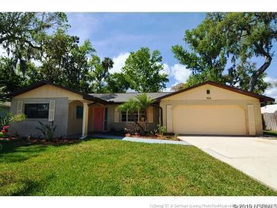 Port Orange Single Family Home For Sale: 966 E Bramble Bush Circle