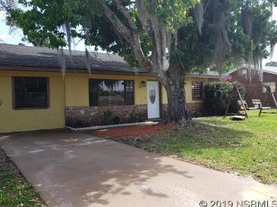 Edgewater Single Family Home For Sale: 1219 Victory Palm Dr