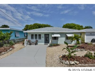 New Smyrna Beach Single Family Home For Sale: 312 Florida Ave