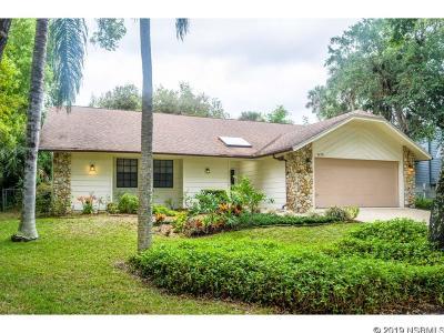 New Smyrna Beach Single Family Home For Sale: 4175 Saxon Drive