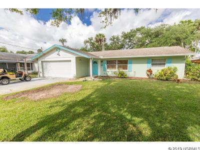 New Smyrna Beach Single Family Home For Sale: 510 Yupon St