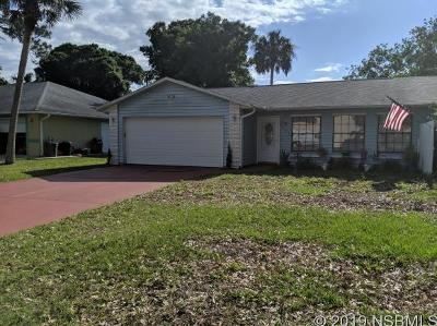 Edgewater Single Family Home For Sale: 3206 India Palm Dr