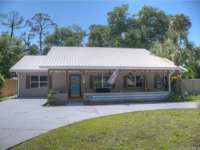 New Smyrna Beach Single Family Home For Sale: 728 Neal St