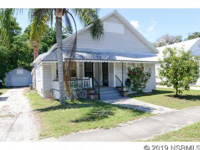 New Smyrna Beach Single Family Home Contingency: 208 Myrtle Ave