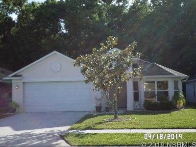 Edgewater Single Family Home For Sale: 554 Coral Trace Blvd