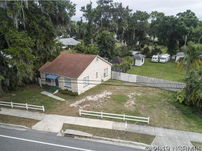 New Smyrna Beach FL Single Family Home For Sale: $263,000