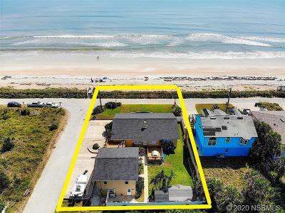 New Smyrna Beach Single Family Home For Sale: 6500 S Atlantic Avenue