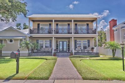 New Smyrna Beach Single Family Home For Sale: 608 S Riverside Drive