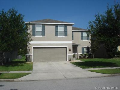 New Smyrna Beach Single Family Home For Sale: 552 Aeolian Drive