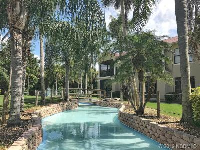 New Smyrna Beach Condo/Townhouse For Sale: 404 Bouchelle Drive #206