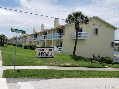Ponce Inlet Condo/Townhouse For Sale: 4740 S.atlantic Avenue #4