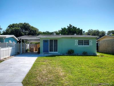 New Smyrna Beach Single Family Home For Sale: 3209 Saxon Drive