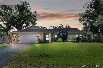Edgewater Single Family Home For Sale: 2945 Unity Tree Drive