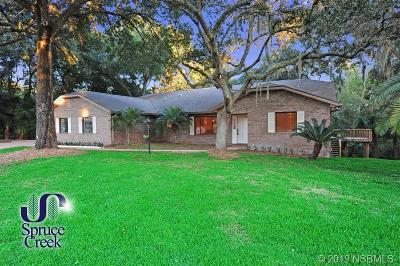 Port Orange Single Family Home For Sale: 2630 Spruce Creek Boulevard