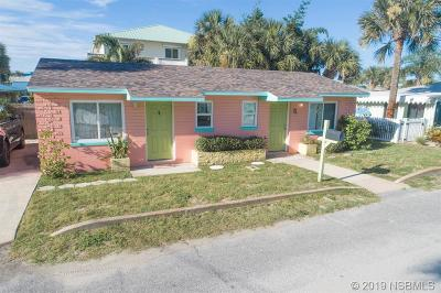New Smyrna Beach Condo/Townhouse For Sale: 411 Esther Street