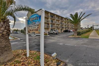 New Smyrna Beach Condo/Townhouse For Sale: 3700 S Atlantic Avenue #102