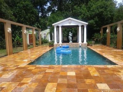 New Smyrna Beach Single Family Home For Sale: 509 Faulkner Street