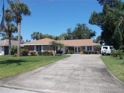New Smyrna Beach Single Family Home For Sale: 103 Sea Street