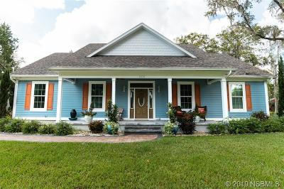 New Smyrna Beach FL Single Family Home For Sale: $459,900
