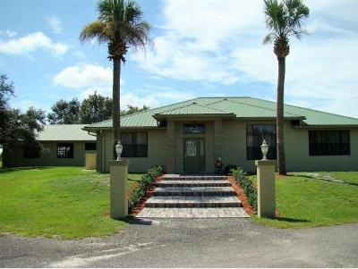 Okeechobee County Single Family Home For Sale: 13600 NW 160th Street