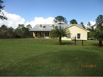 Okeechobee County Single Family Home For Sale: NE 365th Lane