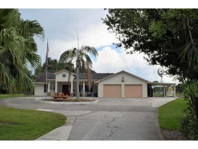 Okeechobee County Single Family Home For Sale: 2990 NE 52nd Drive