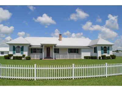 Okeechobee County Single Family Home For Sale: 9551 SW Us Hwy 78 W