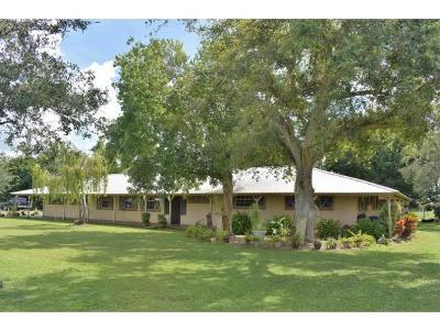 Okeechobee County Single Family Home For Sale: 940 NE 96th Avenue