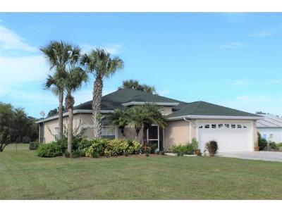 Okeechobee County Single Family Home For Sale: 13963 SW 144th Pkwy