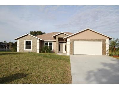 Okeechobee County Single Family Home For Sale: 1045 SE 21st Street