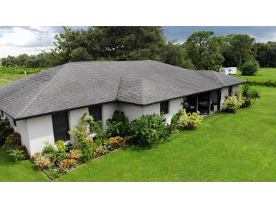Okeechobee County Single Family Home For Sale: 12498 441 N