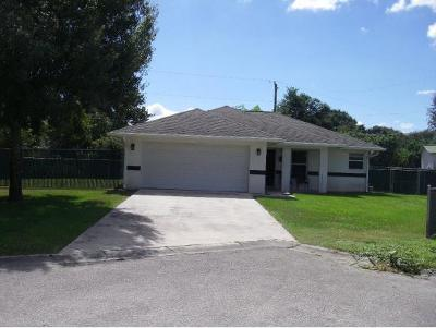 Okeechobee County Single Family Home For Sale: 181 SW 21st Avenue