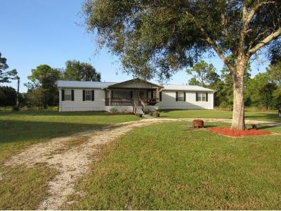 Okeechobee County Single Family Home For Sale: 6051 NW 30th Street