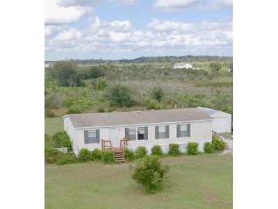 Okeechobee County Single Family Home For Sale: 18977 NW 242nd Street