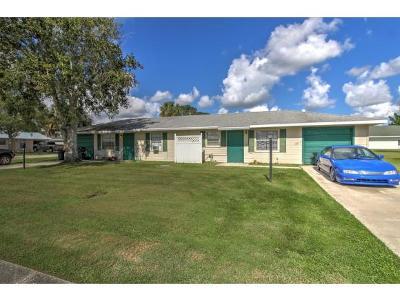 Okeechobee County Multi Family Home For Sale: 5001 & 5017 SE 43rd St