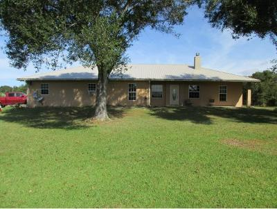 Okeechobee County Single Family Home For Sale: 7753 NW 90th Court