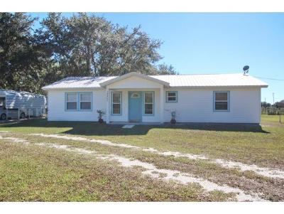 Okeechobee County Single Family Home For Sale: 14462 NW 294th St