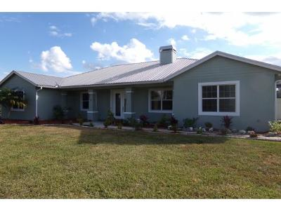 Okeechobee County Single Family Home For Sale: 6450 NW 30th St.