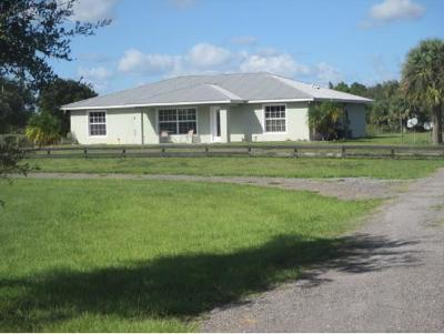 Okeechobee County Single Family Home For Sale: 5150 NE 122nd Drive