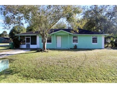 Okeechobee County Single Family Home For Sale: 1712 NW 7th Ave