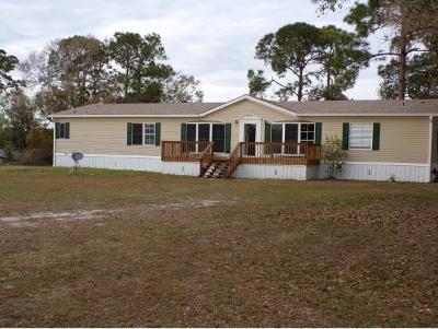Okeechobee County Single Family Home For Sale: 5869 NE 4th Lane