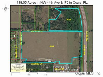 Ocala Residential Lots & Land For Sale: 3171 NW 44 Avenue
