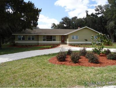 Belleview Single Family Home For Sale: 12442 SE Highway 484