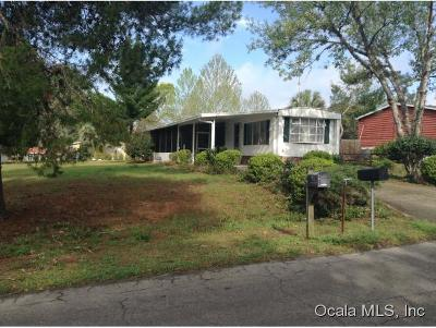 Silver Springs Mobile/Manufactured For Sale: 2070 SE 178 Avenue