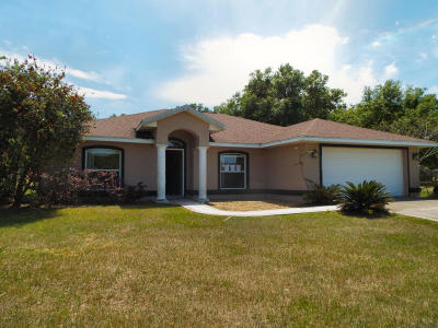 Ocala FL Single Family Home Sold: $110,000