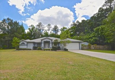 Single Family Home Sold: 1690 SE 85th St Road
