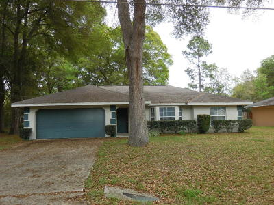 Ocala FL Single Family Home Sold: $103,000